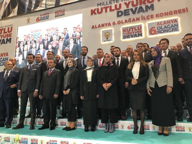 AK Parti Alanya İlçe Kongresi