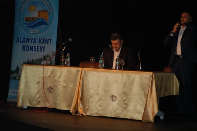 Kent Konseyi Şehitleri Anma Programı