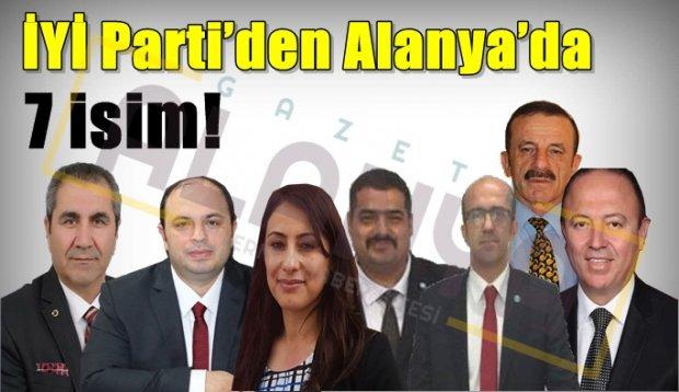 İşte İYİ Parti'nin Alanya'da Aday adayları! Sizce kimler aday olsun?