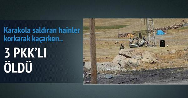 3 PKK LI ÖLDÜ
