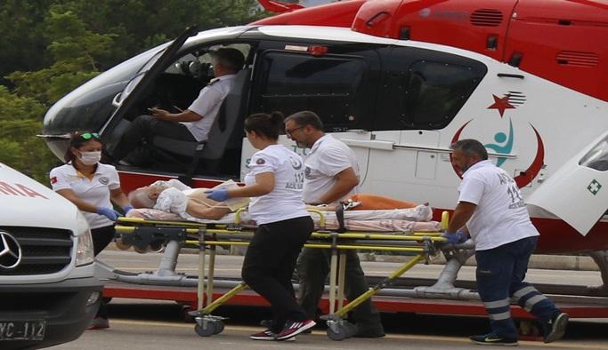 112 yaşlı adamı hayata bağladı