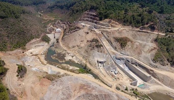 Alanya Yeniköy Barajı'nın yüzde ellisi tamamlandı