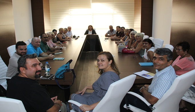 Alkü ve yabancılar Meclisi'nden ortak işbirliği