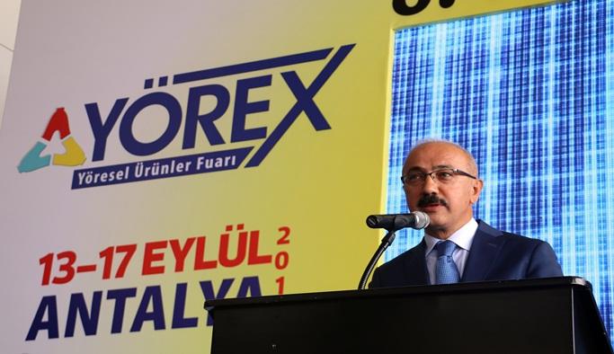 Bakan Elvan'dan yöresel ürünlerin tanıtımına destek sözü