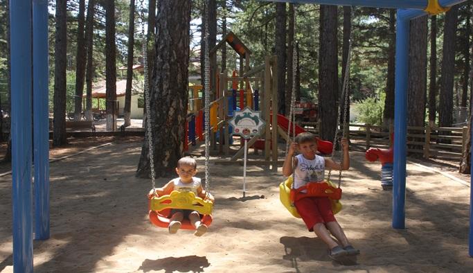 Belediye'den yaylaya park
