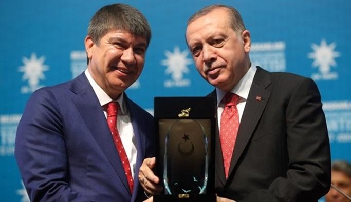 Cumhurbaşkan'ından Türel'e anlamlı ödül