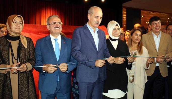 Kültür Bakanı Kurtulmuş 'Herakles Lahdi' açtı
