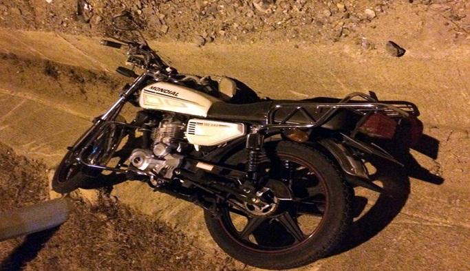 Motosikletli gencin şüpheli ölümü