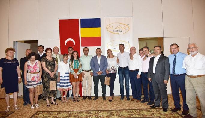 Romanya koordinasyon toplantısı Alanya'da yapıldı