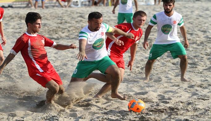 Tff Plaj Futbolu Türkiye finalleri başlıyor