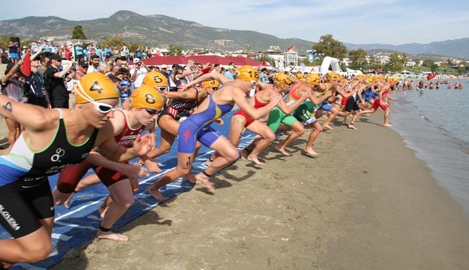 Trıathlon yarış heyecanı başlıyor
