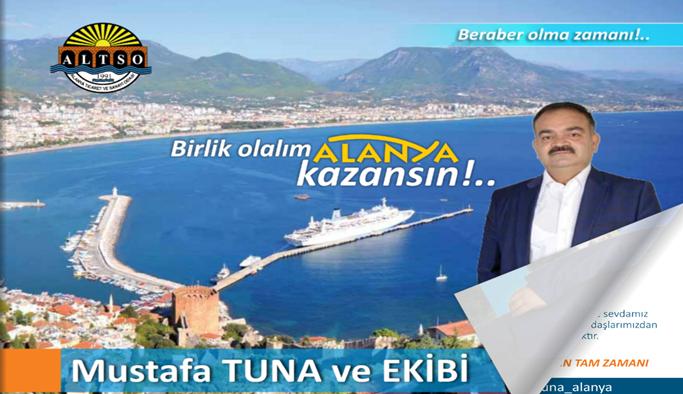 Tuna'nın projeleri e-kitapçıkta