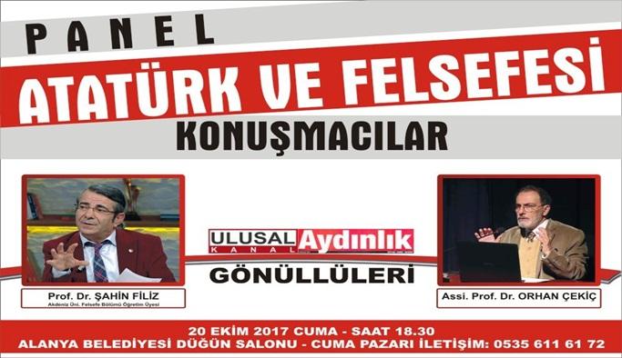 Atatürk'ü anlatmak İçin Alanya'ya geliyorlar