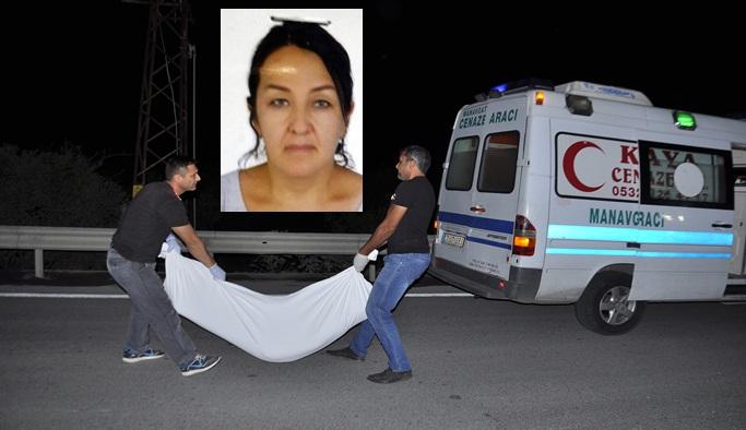 Özbek kadın kazada öldü