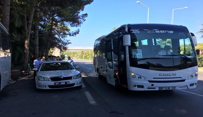 Tur otobüs ve minibüslerine denetim