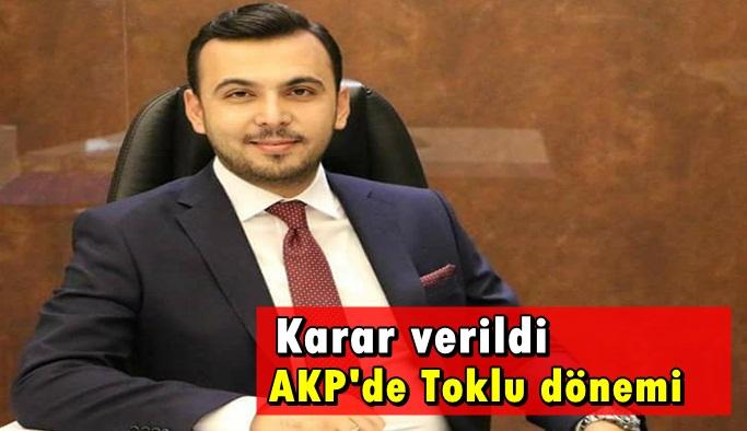 AK Parti'de Toklu başkan