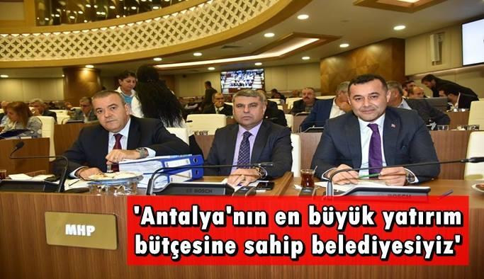 Alanya Belediyesi'nin bütçesi onaylandı
