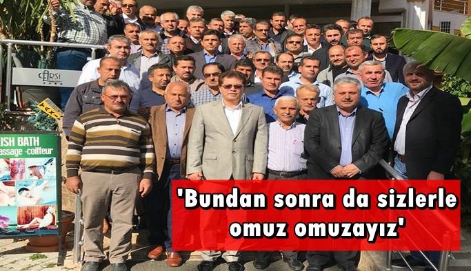 Berberoğlu ile helalleştiler
