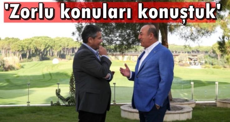Çavuşoğlu'ndan sürpriz görüşme