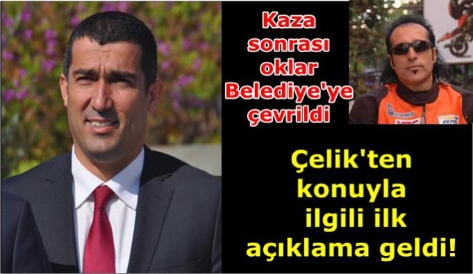 Çelik'ten Razgatlıoğlu'nun kazasıyla ilgili ilk açıklama!