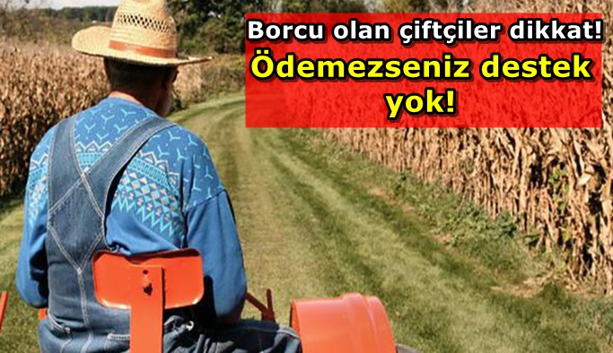 Elektrik borcu olan çiftçiye kötü haber!