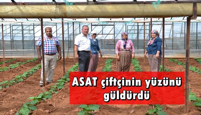 Gazipaşa'da çiftçinin yüzü gülüyor