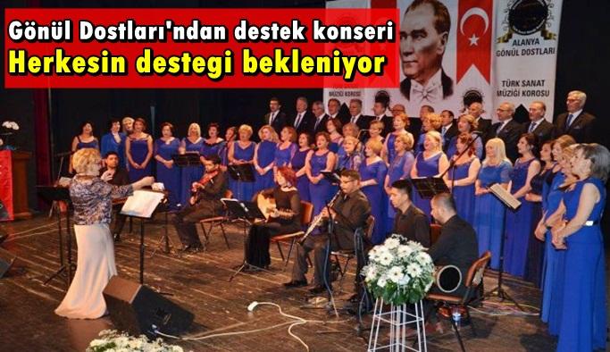 Gönül Dostları'ndan destek konseri
