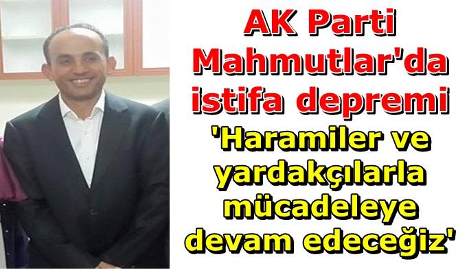 AK Parti Mahmutlar Teşkilatı'nda sular durulmuyor