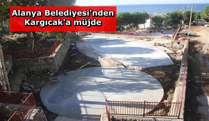 Alanya Belediyesi Kargıcak'a yeni hizmet