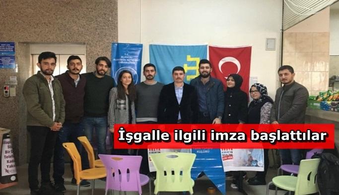 Alanya'da Kırım için imza kampanyası başlatıldı