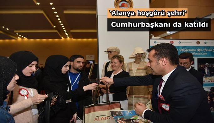 Başkan Yücel'den Ankara'da Alanya tanıtımı