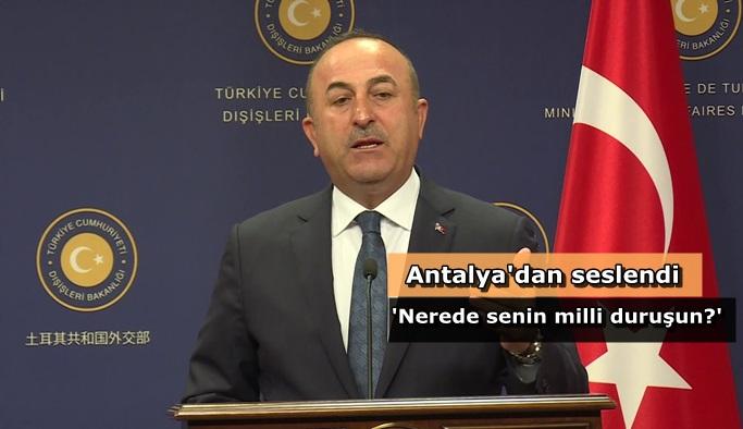 """Çavuşoğlu: """"FETÖ, ABD yargısının içinde de var"""""""