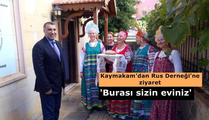 Harputlu Ruslarla bir araya geldi