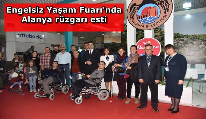 Türkiye'nin en büyük Engelli Fuarı'nda Alanya tanıtıldı