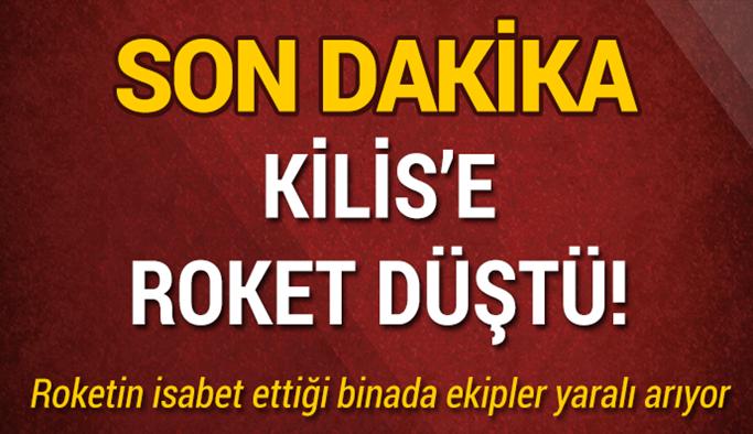 Afrin'den atıldığı tahmin edilen bir roket Kilis'teki binaya isabet etti!