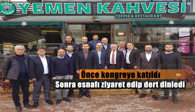 AK Parti'li Toklu'dan esnaf çıkarması