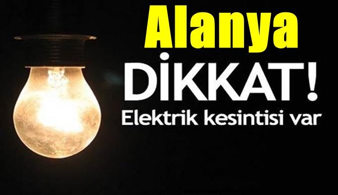AKEDAŞ'tan Alanya için elektrik kesinti uyarısı!