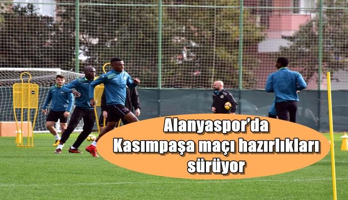 Alanyaspor'da Kasımpaşa maçı hazırlıkları sürüyor