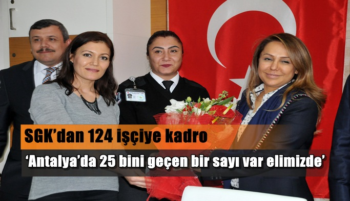 'Antalya'da 25 bini geçen bir sayı var elimizde'