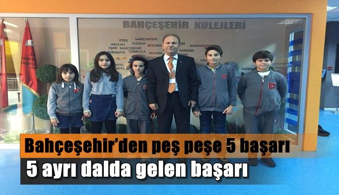 Bahçeşehir'den peş peşe gelen başarı