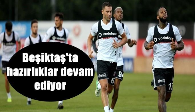 Beşiktaş'ta hazırlıklar devam ediyor