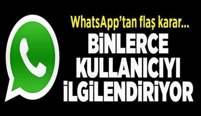 İşte artık WhatsApp'ta göremeyeceğiniz özellik