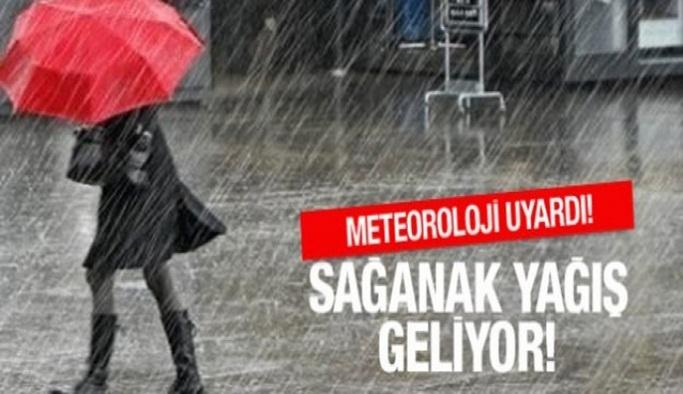 Meteoroloji'den Alanya için sağanak uyarısı!