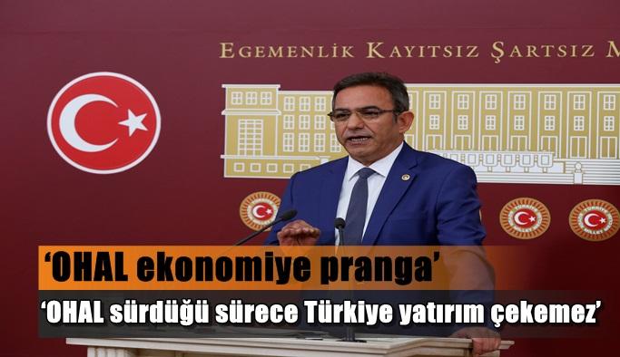 'OHAL sürdüğü sürece Türkiye yatırım çekemez'