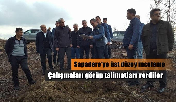 Orman Genel Müdürü Sapadere'yi inceledi