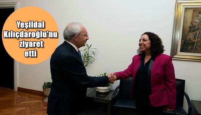 Yeşildal Kılıçdaroğlu'nu ziyaret etti
