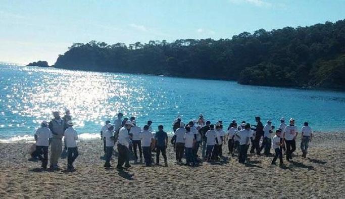 Ağrılı öğrenciler Fethiye'yi gezdi