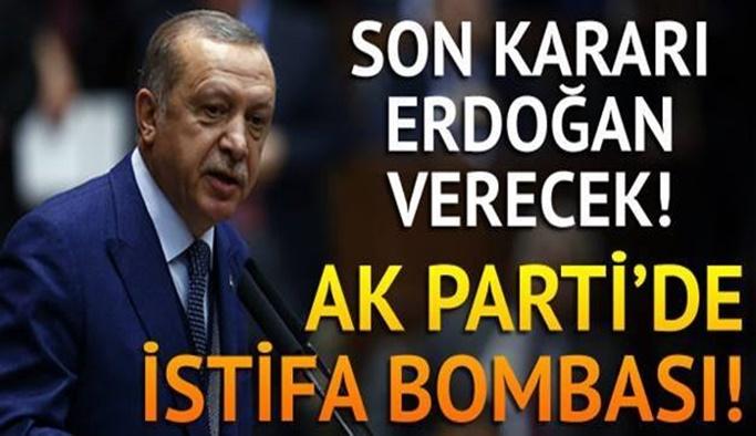 AK Parti'de büyük hareketlilik! İstifalar geliyor