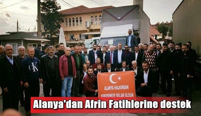 Alanya'dan Afrin Fatihlerine destek