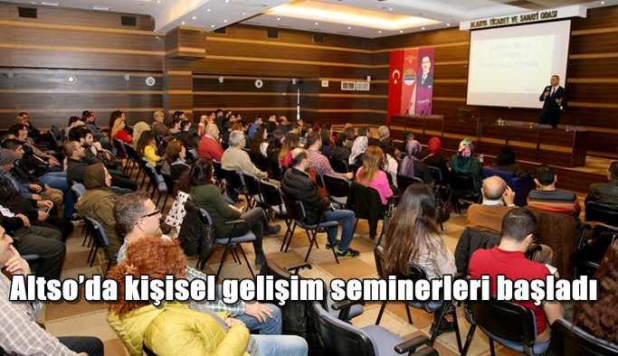 Altso'da kişisel gelişim seminerleri başladı